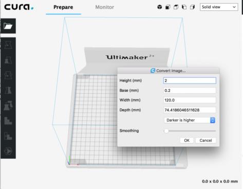 撒羅滿:如何將圖像(JPG / PNG)轉換為STL以進行3D打印
